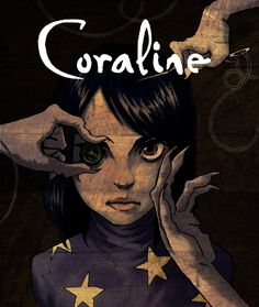 Coraline by Neil Gainman illustration tim burton Best Halloween books for kids Coraline Jones, Coraline Art, Coraline Tattoo, Halloween Books For Kids, Happy Halloween, Halloween Poster, Scary Halloween, Tim Burton Kunst, Coraline Aesthetic
