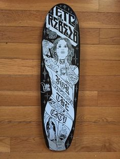 Mike Giant Rebel8 X FTC Signed Skateboard Deck
