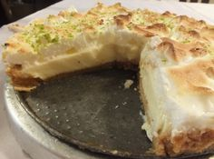 Receita de Torta de Limao Fácil e Deliciosa - torta de limão!!!Ficou muito gostosa mais ñ botei o suspiro !Achei que ia tirar o gosto !... Bom Natal! gostaria de receber receitas de tortas...