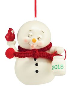 Department 56 Snowpinions Christmas Collection For the Birds 2015 Dated Ornament