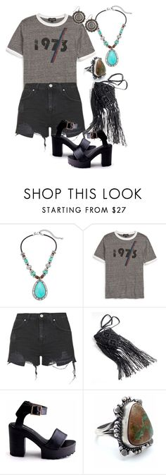 """1973"" by naviaux ❤ liked on Polyvore featuring Chico's, Topshop and Child Of Wild"