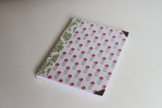 Handmade note book with flower pattern from tilda by TagandPack, €5.00