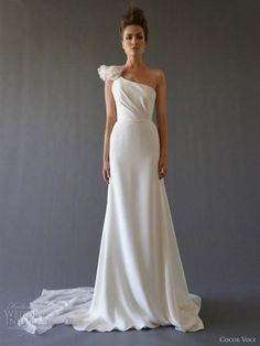 143 best One Strap Wedding Dresses images on Pinterest | Wedding ...