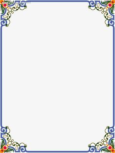 Pretty flower designs to draw on paper beautiful chart floral border design green wall ideas liciou Frame Border Design, Boarder Designs, Page Borders Design, Flower Background Wallpaper, Flower Backgrounds, Borders For Paper, Borders And Frames, Borders Free, Motif Floral