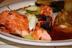 Honey Dijon Salmon. So yummy!!