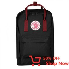 Shop Kånken 15 Laptop Backpack [Backpack - Quick OverviewThe classic Kånken becomes your computer bag. The padded pocket protects the computer from jostling. Zipper opens the entire main compartment. Padded shoulder straps and a carrying handle on top. Mini Backpack, Laptop Backpack, Kanken Backpack, Backpack Online, Computer Bags, Cool Backpacks, Laptop Sleeves, Boards, Abs