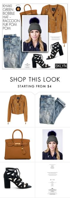"""""""Do you like it?"""" by sabinakopic ❤ liked on Polyvore featuring Paige Denim, J.Crew, Hermès, Sole Society, tarte and wearbklyn"""