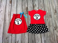 Custom boutique Applique DrSeuss girls Thing by EverythingSorella, $82.50
