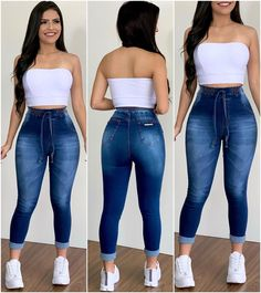 Swag Outfits For Girls, Cute Comfy Outfits, Classy Outfits, Stylish Outfits, Cool Outfits, Fashion Outfits, Crop Top Outfits, Curvy Outfits, Jean Moda