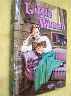 I loved this cover - one of the many copies of Little Women I read over the years