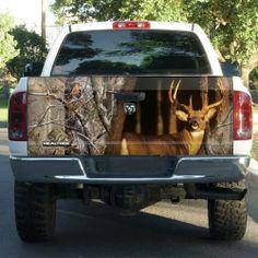 Realtree® Xtra Camo Tailgate Film | Truck Camo Accessoris