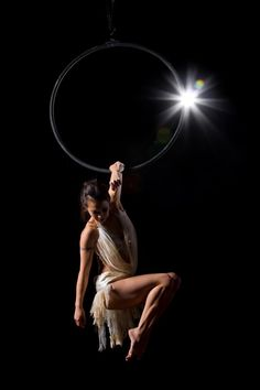 natasha wang, aerial hoop.