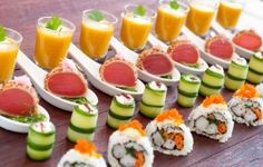 1000 images about piqueos gourmet on pinterest chutney for Gourmet canape ideas