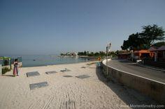Einer der Stadtstrände in Zadar