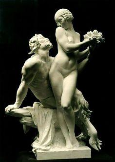 Nymph and Satyr. 1920.Edward Francis McCartan. American 1879-1947.http://hadrian6.tumblr.com