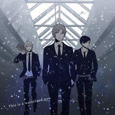 World Trigger anime Ninomia squad Anime Guys, Manga Anime, Art Reference Poses, Anime Artwork, Moving Pictures, Attack On Titan, Webtoon, World, Infinite