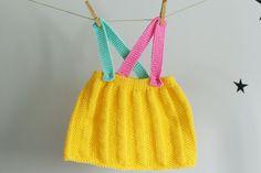 Knitted baby Skirt Baby Girl Skirt van LalaKa op Etsy, $30.00