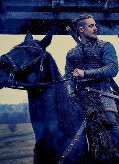 The Last Kingdom Cast, Viking Wallpaper, Alexander Dreymon, Gorgeous Men, Vikings, It Cast, Hat, Movies, Movie Posters