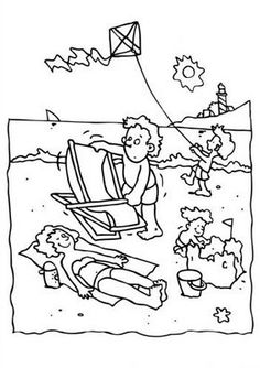 1000 images about beach coloring pages on pinterest beach coloring pages coloring pages and. Black Bedroom Furniture Sets. Home Design Ideas