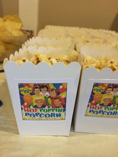 Wiggles hot poppin popcorn bday The Wiggles, 3rd Birthday, Popcorn, Hot, 3 Years, Kettle Popcorn, Air Popped Popcorn, Torrid
