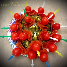 Skewered Italian Appetizer Bites… – You Betcha Can Make This!