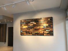 Neue Ideen der Wandgestaltung.  STÄRKE: 20 mm FORMAT: 700 x 200 mm AUFBAU: 9 mm Sperrholzträger #hafroedleholzböden #parkett #böden #gutsboden #landhausdiele #bödenindividuellwiesie #vinyl #teakwall #treppen #holz #nachhaltigkeit #inspiration Teak, 9 Mm, Vinyl, Inspiration, Wood Floor, Plywood, Stairways, Old Wood, New Ideas