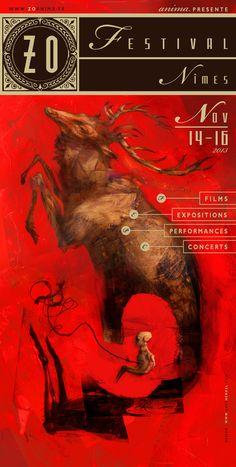 poster ZO by Lars Henkel, via Behance