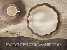 """nuovo concetto del Romantico che stimola i sensi grazie alle sfumature dei colori """"terra"""" e alla classica forma del piatto in stoneware  Sherwood of England Pie Dish, Terra, Concept, Dishes, Style, Swag, Stylus, Flatware, Plates"""