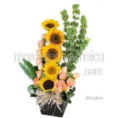 Arreglo Girasoles Festival| Envia Flores