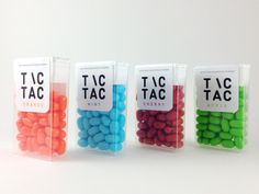 TIC TAC by Andrea Johansson, via Behance