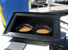 Solar oven. It even makes cake