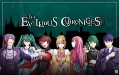 The Evillious Chronicles // Wikia Novels that are the result of the Story of Evil Vocaloid songs.