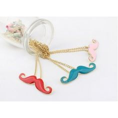 Amazing new gold moustache necklace designs beard pendant necklaces for women will meet all your needs for those situations. provides all kinds of fancy diamond necklaces, pendants for necklace and pendant. Wholesale Fashion, Wholesale Jewelry, Pearl Pendant, Pendant Jewelry, Girls Necklaces, Jewelry Necklaces, Jewelry Shop, Jewlery, Casual Rings