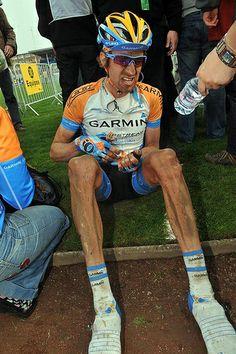 Wiggins, Roubaix, 2009.