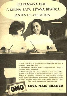 propagandas antigas Omo anos 60