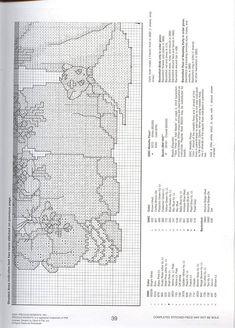 Solo Patrones Punto Cruz (pág. 767) | Aprender manualidades es facilisimo.com