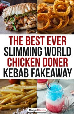 Welcome to my Slimming World Chicken Doner Kebab Fakeaway night in. A delicious homemade chicken doner kebab meal with lots of sides and so easy and quick to… Best Appetizers, Appetizer Recipes, Chicken Doner, Chicken Kebab, Slimming World Fakeaway, Best Superbowl Food, Slimming World Recipes Syn Free, Best Chicken Recipes