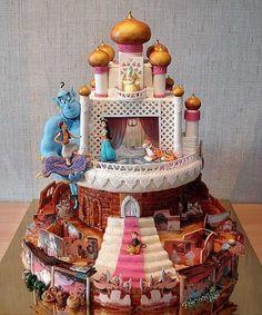 Disney Cake - Aladdin
