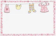 Tarjetas para Baby Shower para imprimir gratis. - Ideas y material gratis para fiestas y celebraciones Oh My Fiesta!