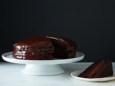 vegan chocolate cake recipe from food52!