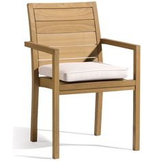 MANUTTI-SIENA TEAK CHAIR Available at all of Michael Taylor Design's Showrooms!