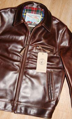 The Fedora Lounge Vintage Leather Jacket, Men's Leather Jacket, Leather Fashion, Mens Fashion, Biker Wear, Bike Suit, Mens Fur, Aviator Jackets, Masculine Style