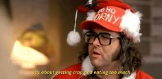 nbc 30 rock judah friedlander its about getting crap and eating too much #humor #hilarious #funny #lol #rofl #lmao #memes #cute