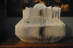 book sculpture, book pagespap, tabl book, coffee table books