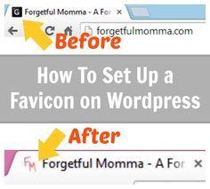 Today I'm going to show you how to set up your own favicon for WordPress. A favicon is a great small touch to make your blog/website look more professional.