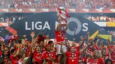 Lisboa, 15/5/2016 - Nico Gaitán Tricampeão pelo SL Benfica.