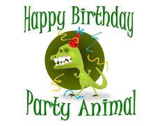 party animal birthday - Google zoeken
