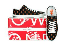 Find San Francisco Giants Row One customized shoes here. All Row One Brand San Francisco Giants shoes are available in a variety of sizes.
