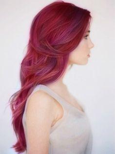 Dark Rose...dreaming of this hair color
