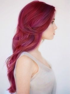 Dark Rose...dreaming of this hair color